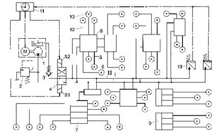 电气集中电路图片